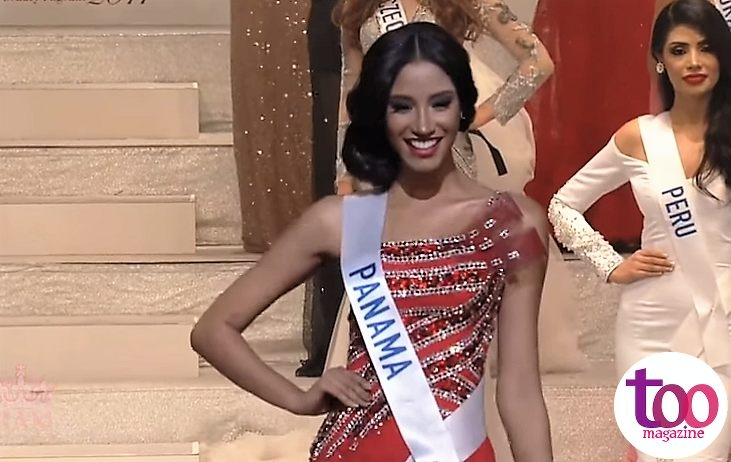 Darelys Santos en el Top 15 de Miss International 2017
